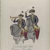 Vereenigde Provincien der Nederlanden. Garde du corps. Pauker en Trompetter.