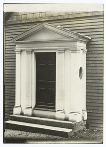 The Porch of Grimshawe House, Salem