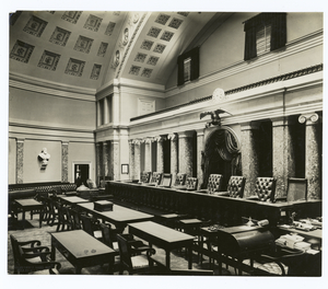 The Supreme Court Chamber Digital ID: 96345. New York Public Library