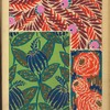 [Three floral designs.]