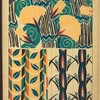 [Two plant form designs.]