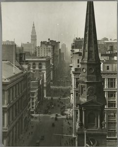 View South From Brick Church, 1925