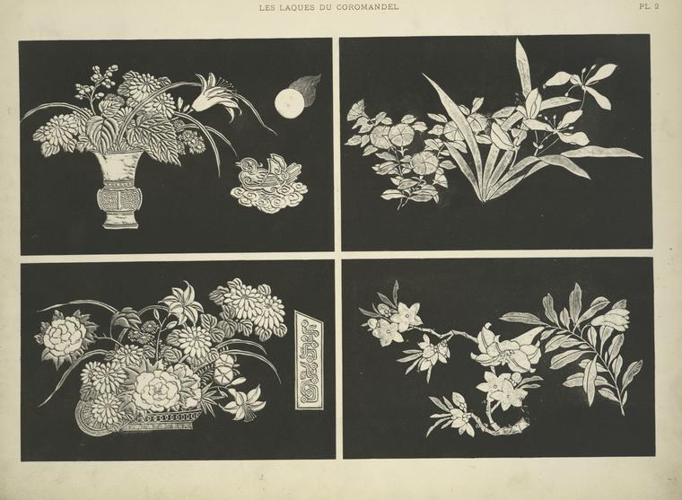 Les laques du Coromandel [flowers]