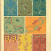 [Eight textile designs.]