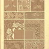 [Nine textile designs.]