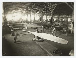 Propeller-making shop