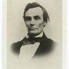 Lincoln at forty-nine, from an ambrotype taken the day after the debate with Douglas at Galesburg, Ill., Oct 7, 1858.