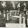 Grave of Captain Downie at Plattsburg.