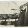 Starboard bow [U.S.S. Constitution miniature replica.]