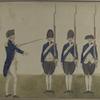 Burgerij, 1783. Sergeant, Grenadiers, Burgers of [Auxiliairen?].