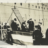 President Wilson and Party Landing at Brest, Dec. 13, 1918.