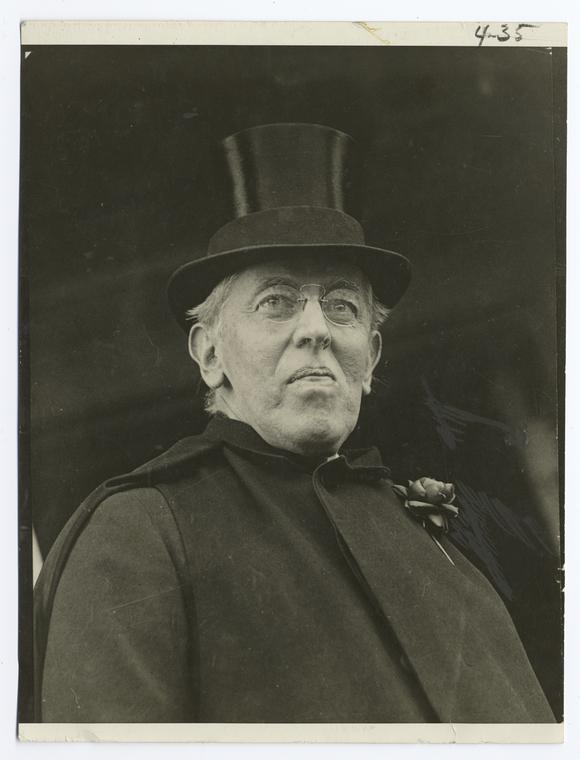 Woodrow Wilson in 1919.