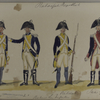 Bataafsche Republiek. Bataillon Linie [?] Infanterie. Walenland. S... Gotha.
