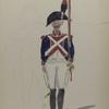 Bataafsche Republiek. Tweede halve brigade Infanterie.