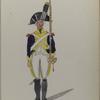 Bataafsche Republiek. 1 en 2 Regiment Waldeck.