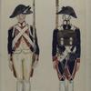 Bataafsche Republiek. Derde Bataillon Infanterie van Linie.