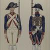 Bataafsche Republiek. Eerste Bataillon Infanterie van Linie.