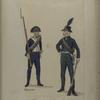 Bataafsche Republiek. Waldeck 5e [vyfde] Bataillon Musketiers en Jager. Vermeende de N... [...] von Kaap de Goed Hoop.