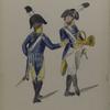 Bataafsche Republiek. Zevende Halve [...] Infanterie (Muzeekanten).