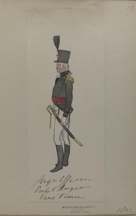 Jager Officier [...] Brigade Diere Temmen.