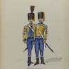 Vereenigde Provincie a Nederland, M[...] Corps-Bayern (France Emigrant ...)