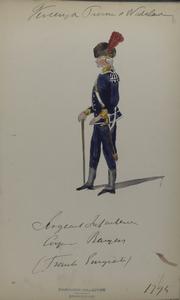 Vereenigde Provincie a Nederland, Sergeant Infanterie Corps Bayern [...] (France Emigrant)