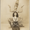 Ruth St Denis and Ted Shawn in Dance of the Rebirth from the Egyptian section of the Review of Dance Pageant