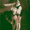 Ted Shawn and Hazel Wallack, his first teacher and partner, in a classic ballet pas de deux.