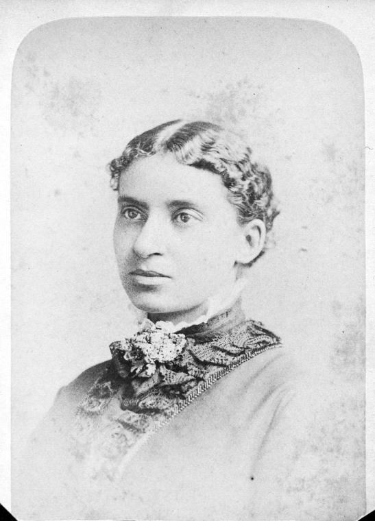 Fascinating Historical Picture of Charlotte L. Forten in 1875