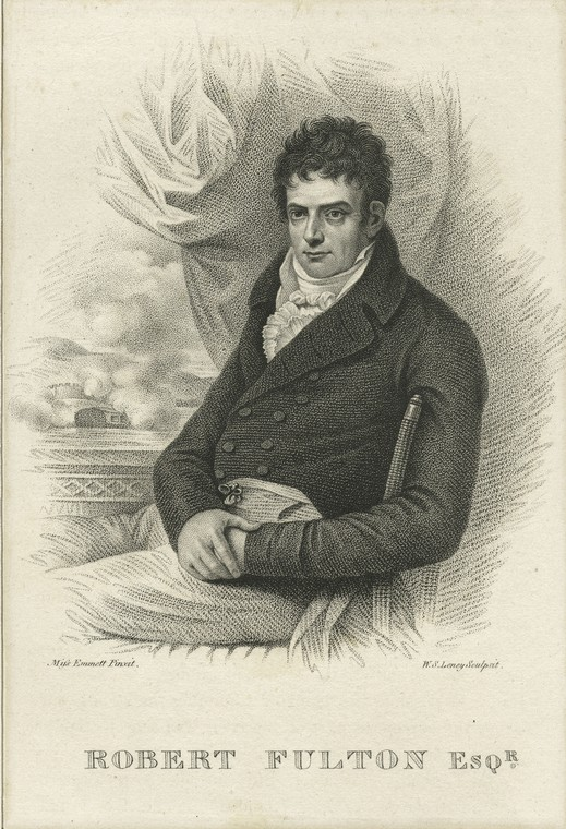 This is What Robert Fulton Looked Like  on 1/1801
