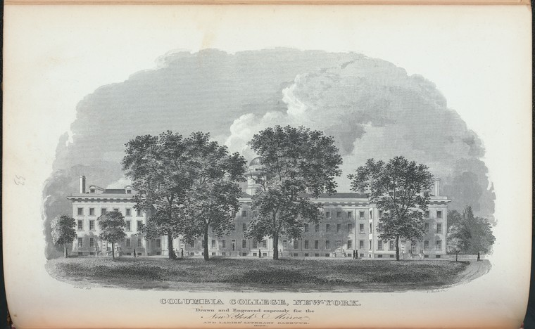 This is What Columbia College Looked Like  in 1828