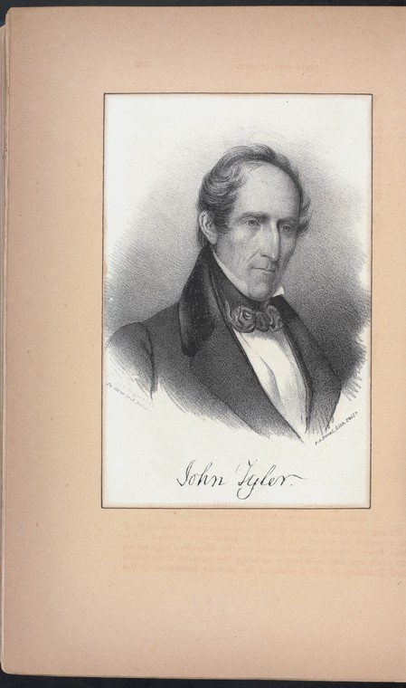 Fascinating Historical Picture of John Tyler in 1880