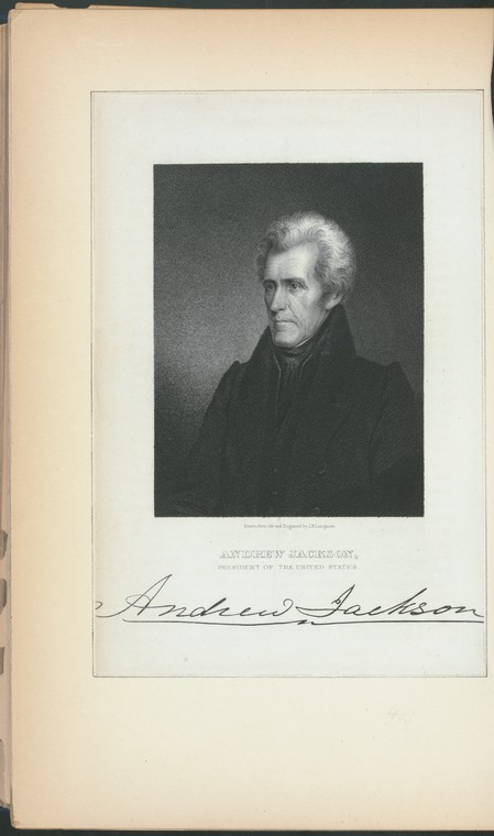 Fascinating Historical Picture of Andrew Jackson in 1881