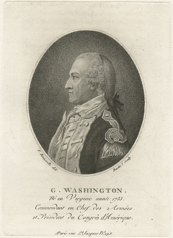 Fascinating Historical Picture of George Washington in 1780