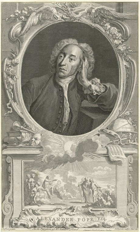 Fascinating Historical Picture of Alexander Pope