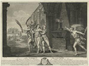 Le tombeau de Voltaire, dédié ... Digital ID: EM3278. New York Public Library