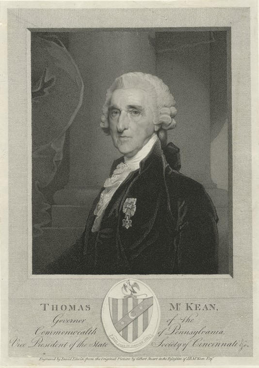 Fascinating Historical Picture of Thomas McKean in 1803
