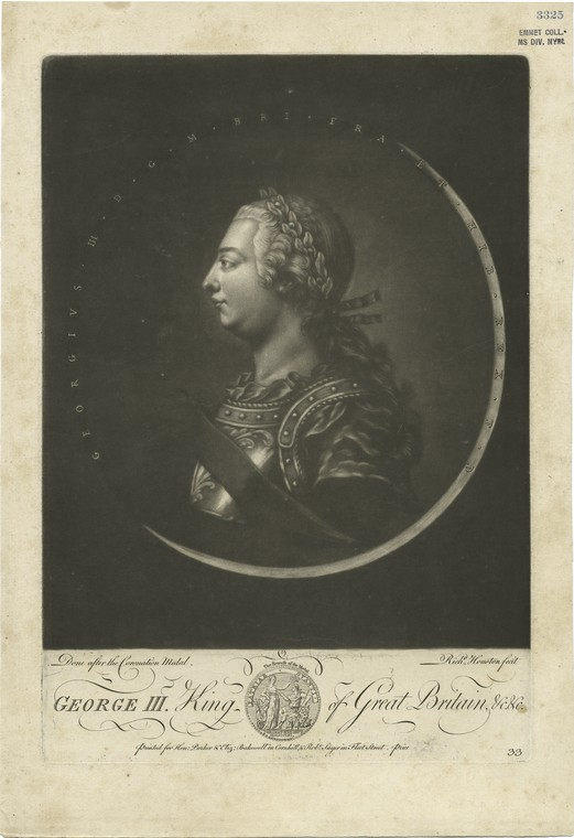 This is What Richard Houston and George III King of Great Britain Looked Like  in 1761
