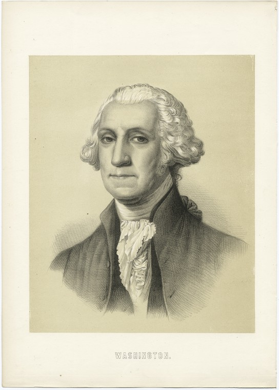 Fascinating Historical Picture of George Washington in 1850