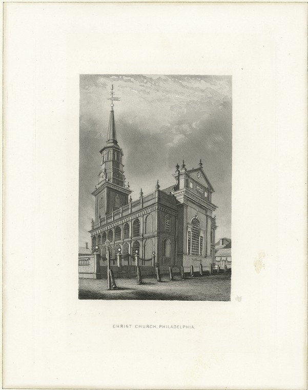 Fascinating Historical Picture of Christ Church in 1880