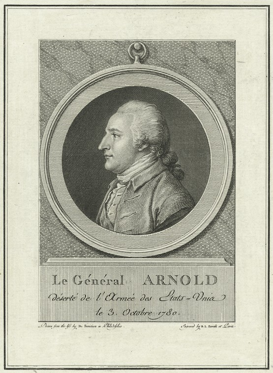 Fascinating Historical Picture of Benedict Arnold on 7/21/1773
