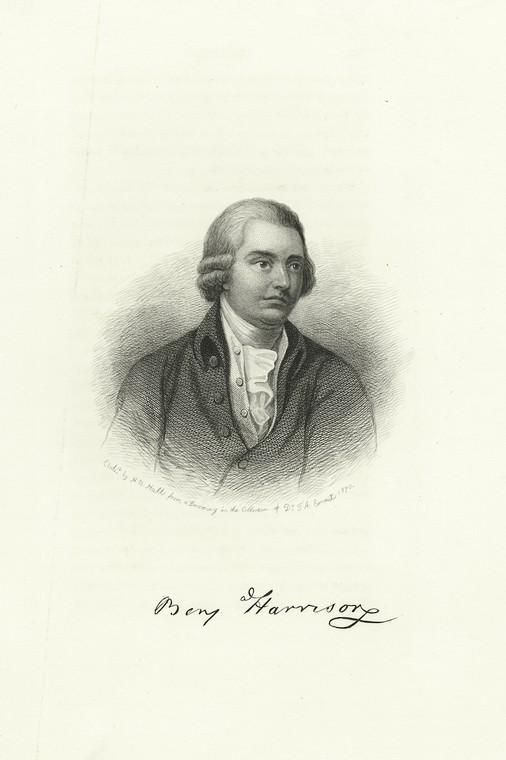 Fascinating Historical Picture of Benjamin Harrison in 1870
