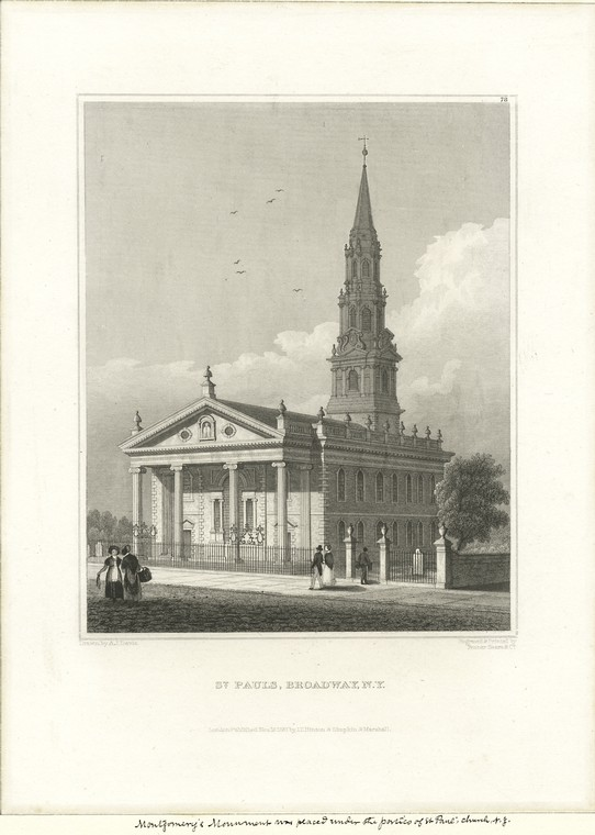 Fascinating Historical Picture of Trinity Church in 1831