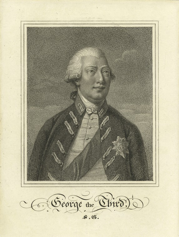 This is What King of Great Britain George III Looked Like  in 1770