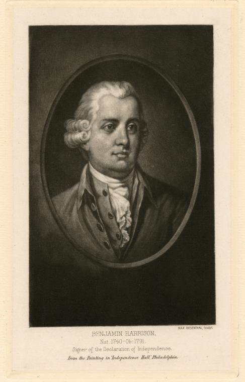 Fascinating Historical Picture of Benjamin Harrison