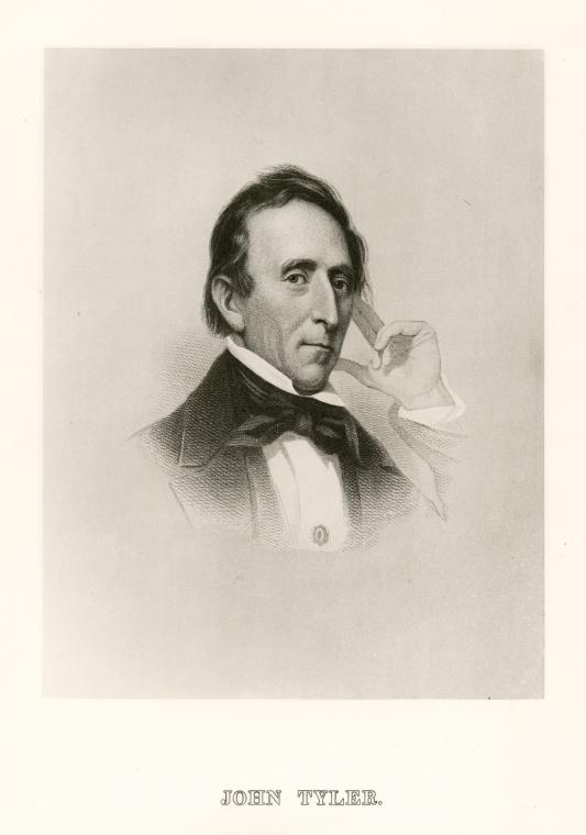 Fascinating Historical Picture of John Tyler