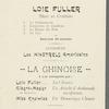 Rue de Paris Exposition program (with insert)
