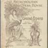 Metropolitan Opera House program featuring Loie Fuller