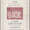 Tonhalle: Gastspiel Loie Fuller