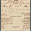 The Arabian Nights - Standard Theatre